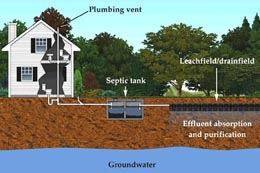 Septic System Layout